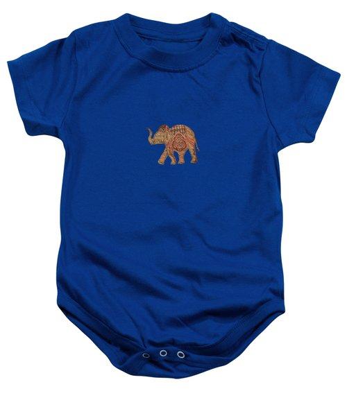 Elephant Baby Baby Onesie