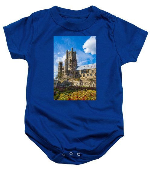 Ely Cathedral And Garden Baby Onesie