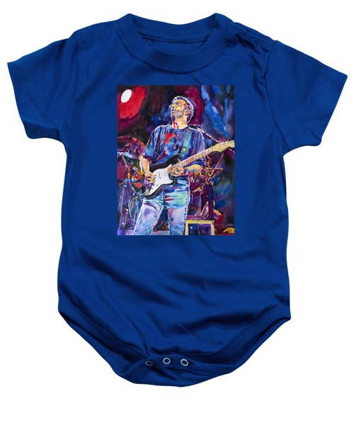 Eric Clapton And Blackie Baby Onesie