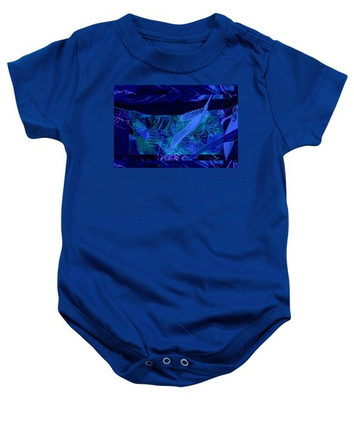Fantasy With African Violets And Peace Lily 40 Baby Onesie