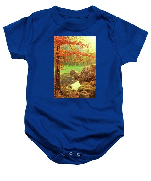 Fire And Water Baby Onesie