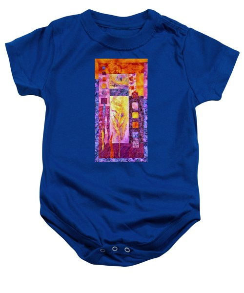 Flaming Feathers Baby Onesie