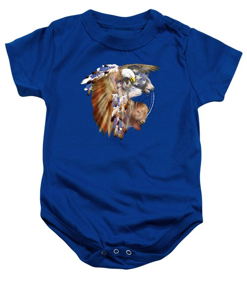 Freedom Lives Baby Onesie