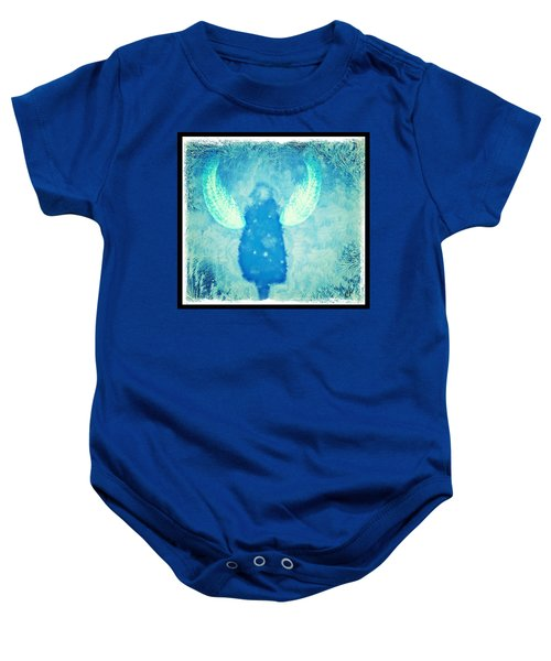 Frosted Angel Baby Onesie