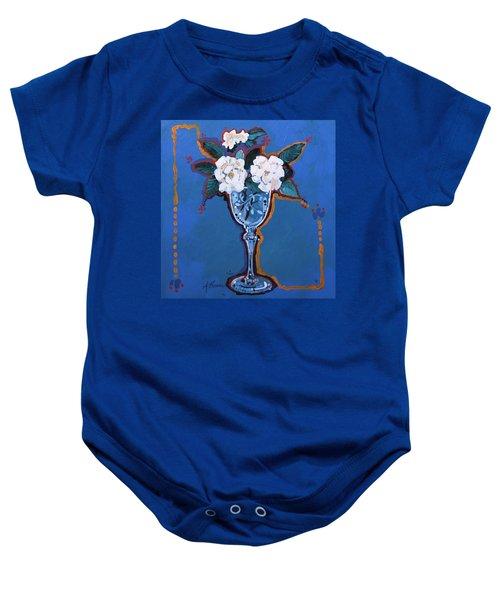 Gardenias Baby Onesie
