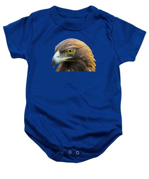 Golden Eagle Baby Onesie by Shane Bechler