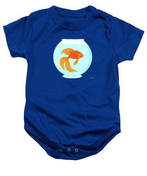 Goldfish Fishbowl Baby Onesie