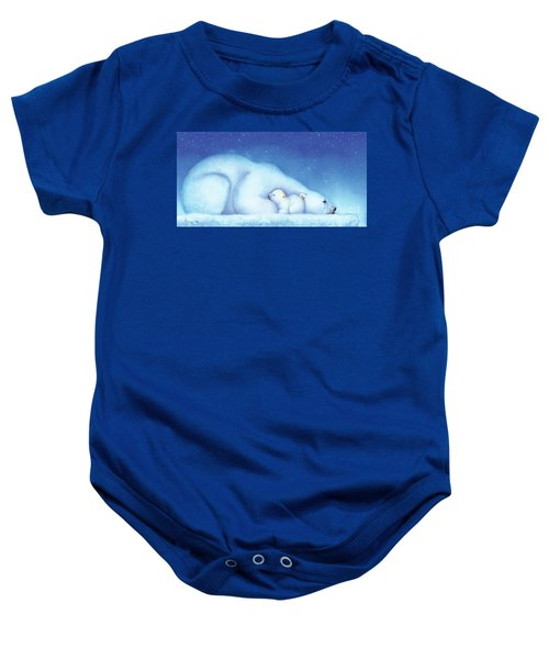 Arctic Bears, Goodnight Nanook Baby Onesie