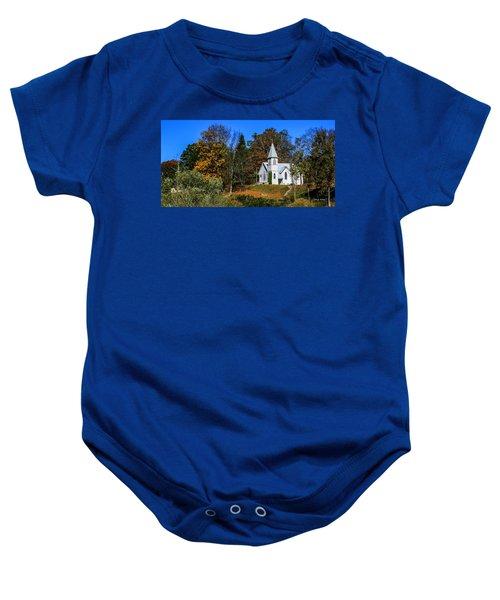Grassy Creek Methodist Church Baby Onesie
