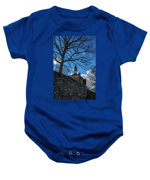 Guarded Summit Memorial Baby Onesie