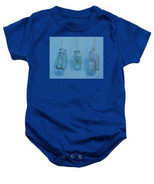 Hanging Bottles Baby Onesie