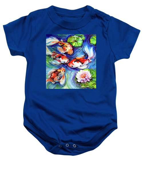 Happiness Koi Baby Onesie