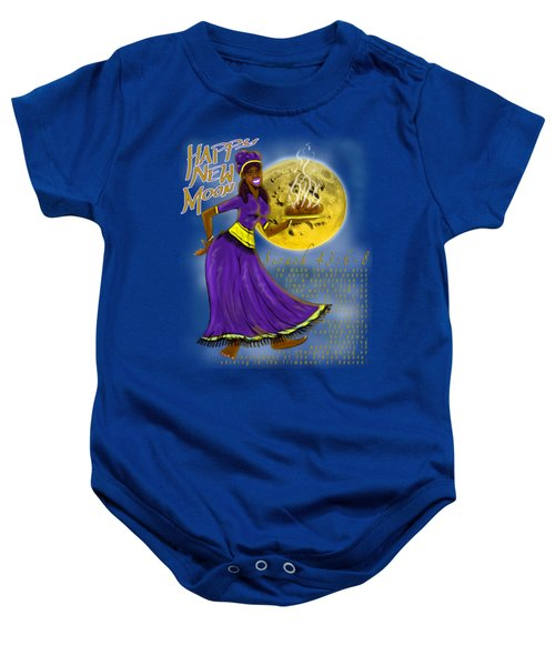 Happy New Moon Sirach 43 Baby Onesie