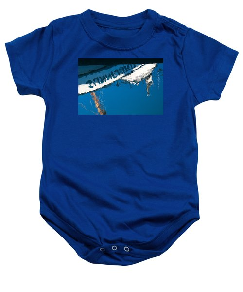 Harbor Blue Baby Onesie