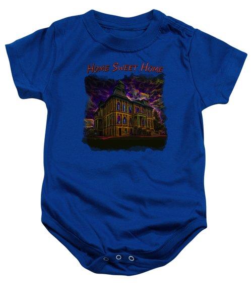 Haunted House 2 Baby Onesie