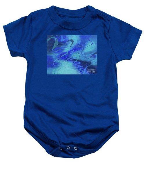Heartsong Blue 1 Baby Onesie