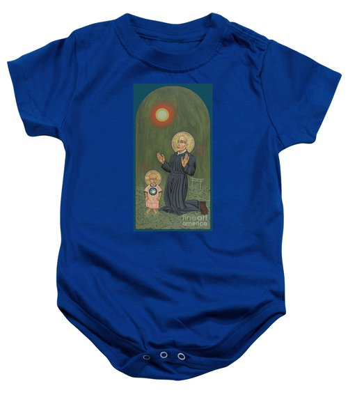 Holy Father Pedro Arrupe, Sj In Hiroshima With The Christ Child 293 Baby Onesie