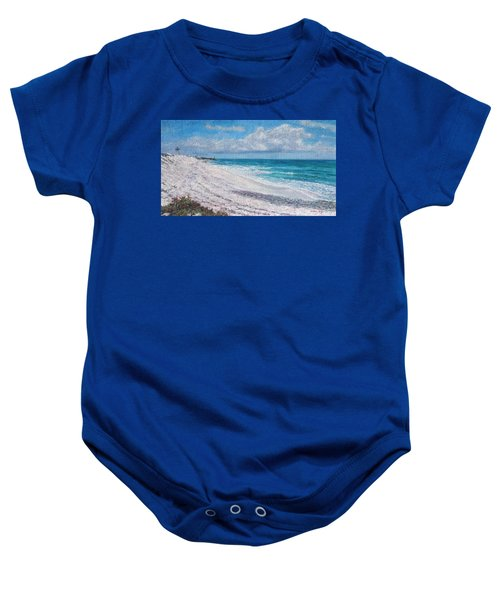 Hope Town Beach Baby Onesie