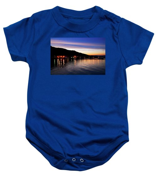 Hot Summers Night Baby Onesie