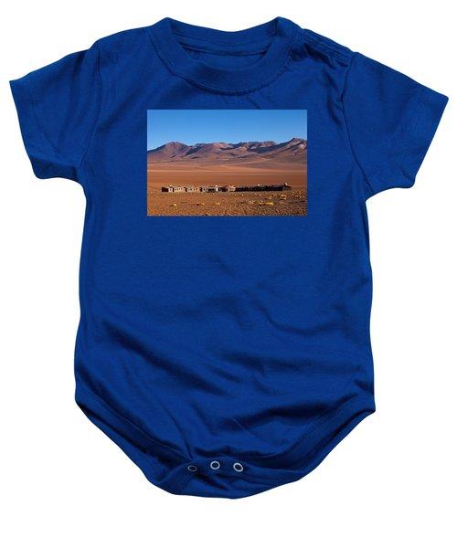 Hotel Tayka Del Desierto In Siloli Desert Baby Onesie