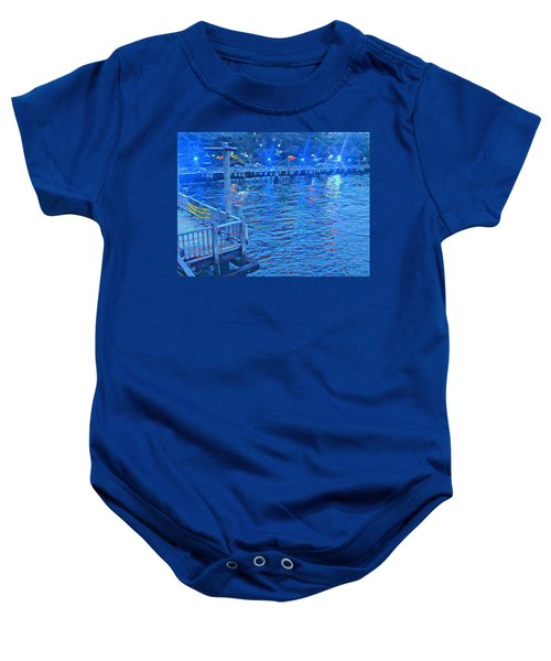 Hudson Electric Baby Onesie