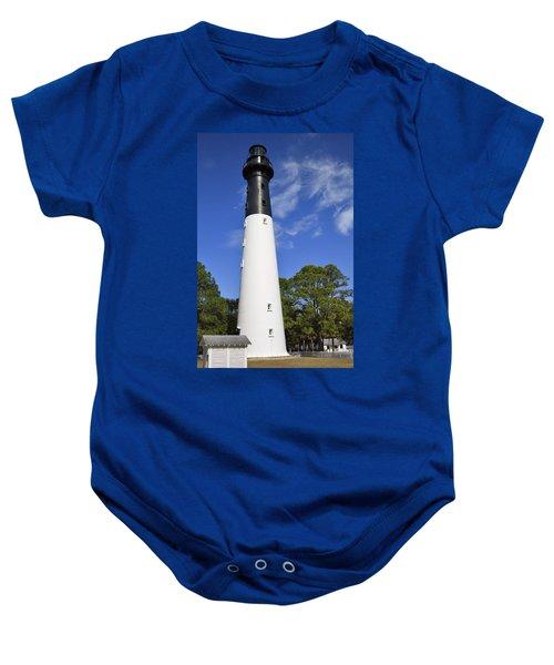 Hunting Island Lighthouse South Carolina Baby Onesie