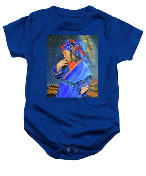 I Want To Put A Ding In The Universe Baby Onesie