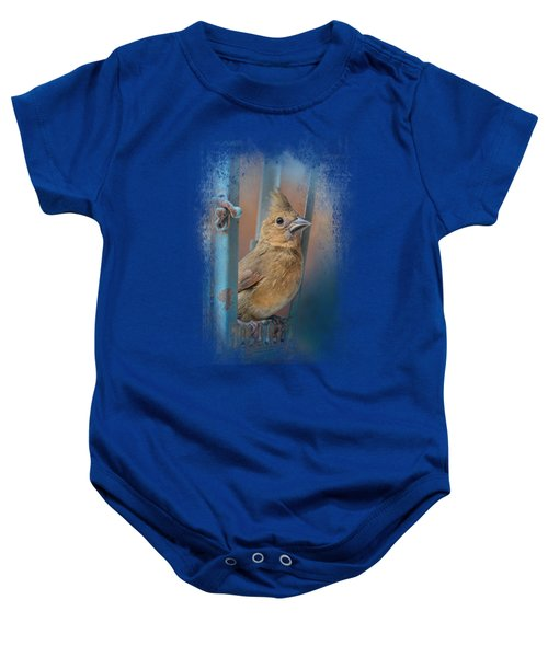 I Will Be Your Light Baby Onesie by Jai Johnson