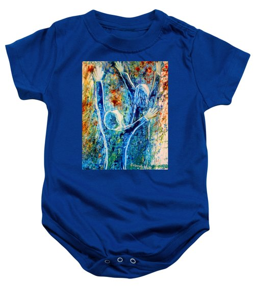 I Will Praise You In The Storm Baby Onesie