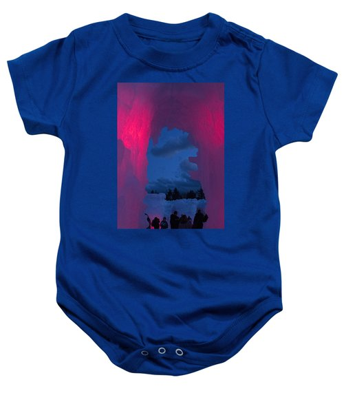 Ice And Colors  Baby Onesie
