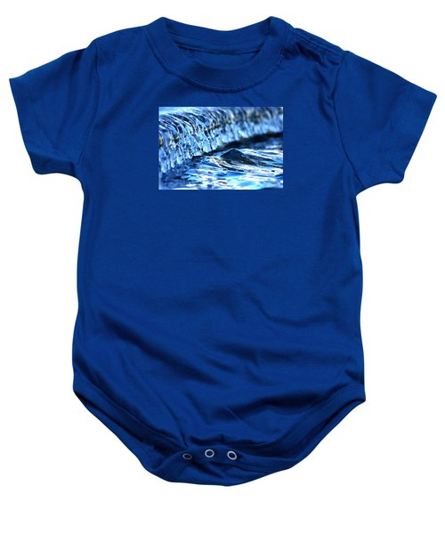 Ice Formation 08 Baby Onesie