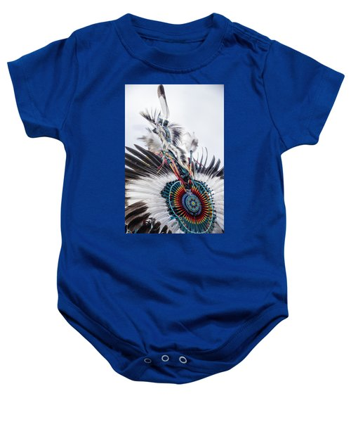 Indian Feathers Baby Onesie