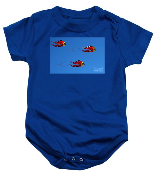 It's A Kite Kind Of Day Baby Onesie