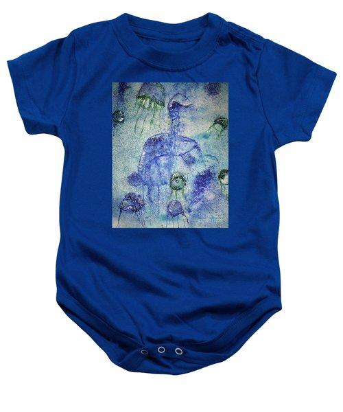 Jellyfish II Baby Onesie