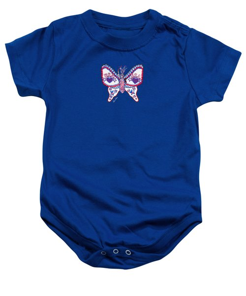 July Butterfly Baby Onesie