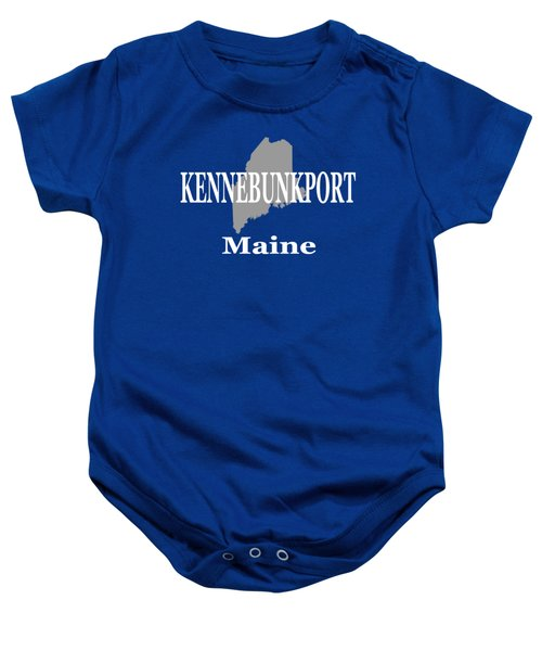 Kennebunk Maine State City And Town Pride  Baby Onesie