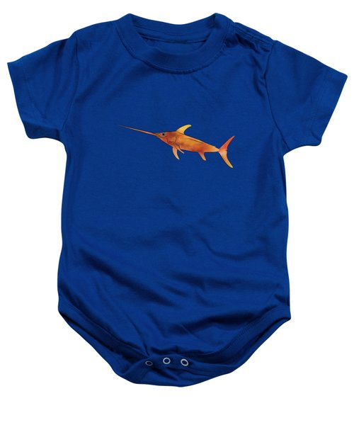 Kessonius V1 - Amazing Swordfish Baby Onesie by Cersatti