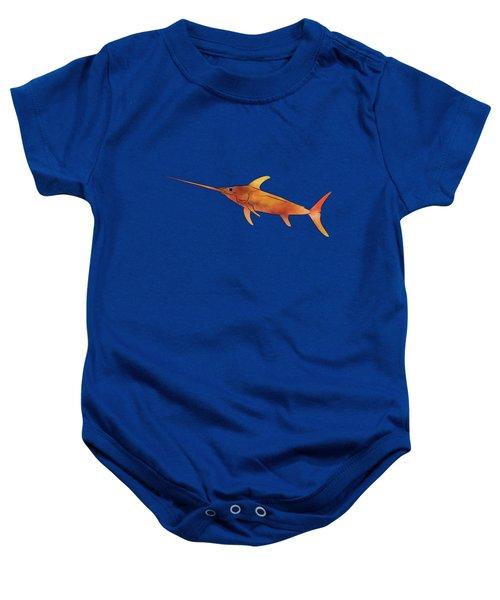 Kessonius V1 - Amazing Swordfish Baby Onesie