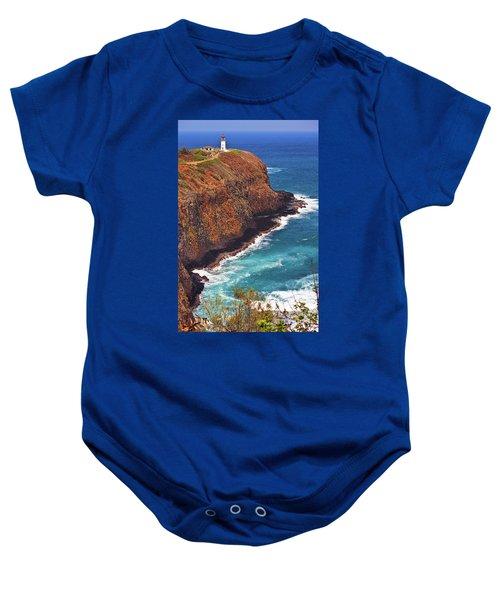 Baby Onesie featuring the photograph Kilauea Lighthouse On The Island Of Kauai, Hawaii, United States Of America          by Sam Antonio Photography