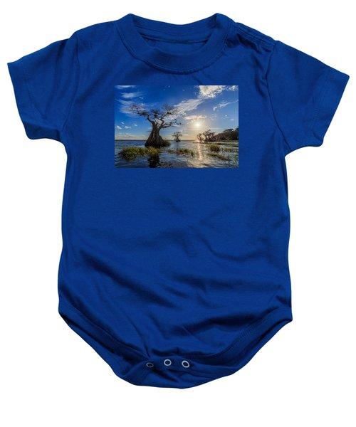 Lake Disston Cypress Paradise Baby Onesie
