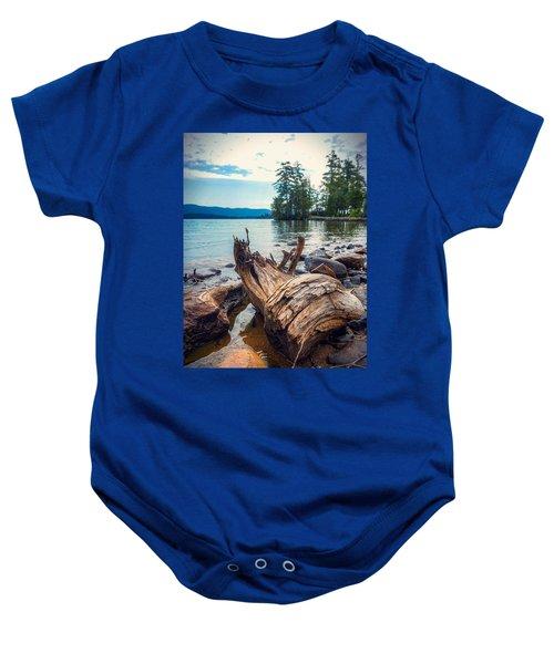 Lake George Palette Baby Onesie