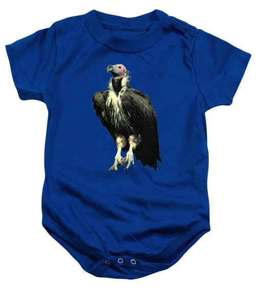 Lappet Face Vulture Baby Onesie by Teresa  Peterson