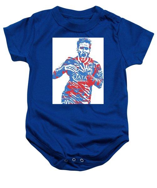 Lionel Messi F C Barcelona Argentina Pixel Art 5 Baby Onesie