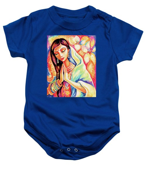 Little Himalayan Pray Baby Onesie by Eva Campbell