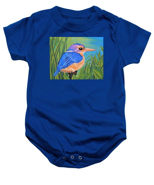 Litttle King Of The Fishers Baby Onesie