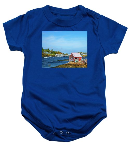 Lobstermen's Shack Baby Onesie