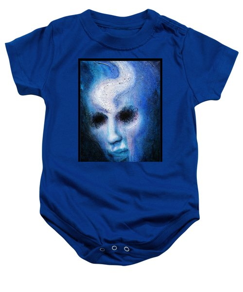 Looking Through The Darkness Baby Onesie