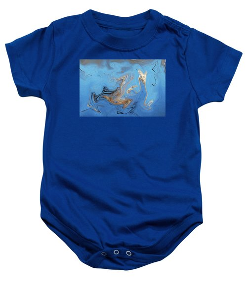 Loop Pond Dance Baby Onesie