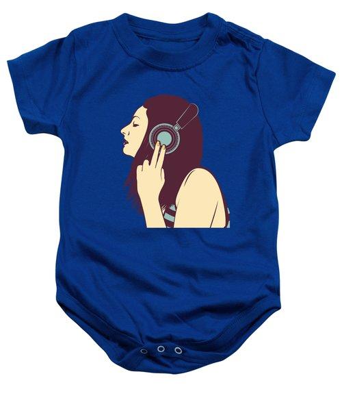Loud Silence Baby Onesie