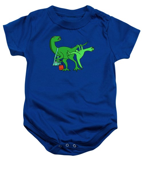 Mamasaurus Baby Onesie